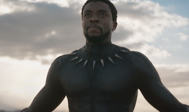 "Chadwick Boseman in ""Black Panther."" (Photo: Marvel)"