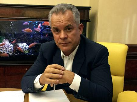 Moldova's media tycoon Vlad Plahotniuc attends an interview with Reuters at his office in Chisinau, Moldova, November 7, 2016. Picture taken November 7, 2016. To match story REUTERS/Matthias Williams