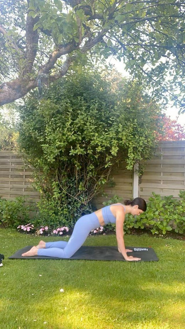 """<p>A brilliant low-impact way to develop full-body (but especially core) strength, <a href=""""https://www.womenshealthmag.com/uk/fitness/a35010425/pilates-everyday/"""" rel=""""nofollow noopener"""" target=""""_blank"""" data-ylk=""""slk:Pilates"""" class=""""link rapid-noclick-resp"""">Pilates</a> is one of the best ways to get and stay strong at any age. Mecklenburgh calls it her 'fav', filming herself doing a <a href=""""https://www.womenshealthmag.com/uk/fitness/workouts/a707014/best-pilates-youtube-workouts/"""" rel=""""nofollow noopener"""" target=""""_blank"""" data-ylk=""""slk:Pilates workout"""" class=""""link rapid-noclick-resp"""">Pilates workout</a> at home on her <a href=""""https://www.womenshealthmag.com/uk/fitness/yoga/g25471397/best-yoga-mats/"""" rel=""""nofollow noopener"""" target=""""_blank"""" data-ylk=""""slk:yoga mat"""" class=""""link rapid-noclick-resp"""">yoga mat</a>.</p><p>This is what happened when one WH staffer did <a href=""""https://www.womenshealthmag.com/uk/fitness/a35010425/pilates-everyday/"""" rel=""""nofollow noopener"""" target=""""_blank"""" data-ylk=""""slk:Pilates every day"""" class=""""link rapid-noclick-resp"""">Pilates every day</a> for two weeks.</p><p><a href=""""https://www.instagram.com/p/CPlI3lvDGpi/"""" rel=""""nofollow noopener"""" target=""""_blank"""" data-ylk=""""slk:See the original post on Instagram"""" class=""""link rapid-noclick-resp"""">See the original post on Instagram</a></p>"""