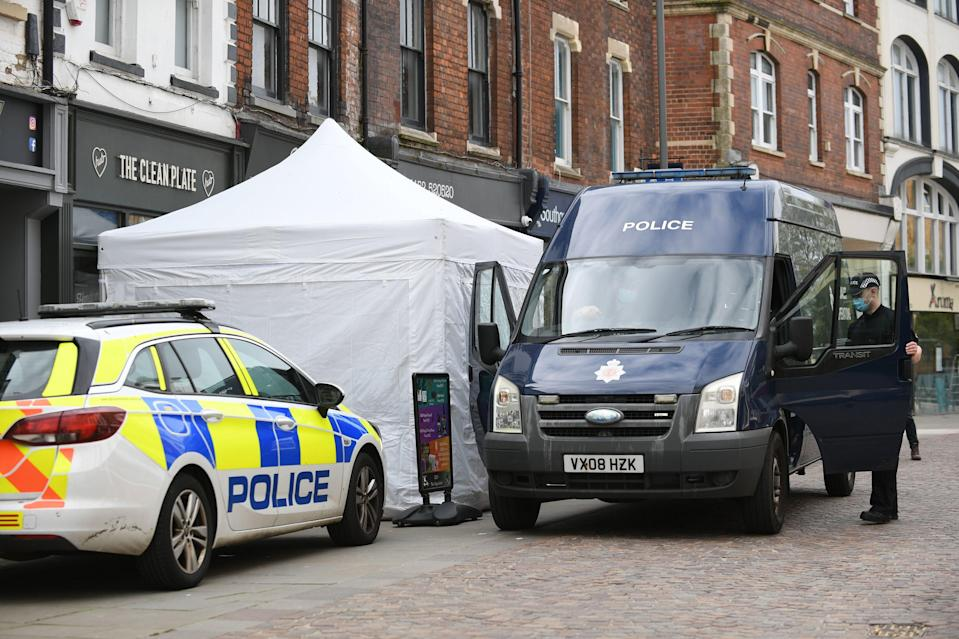 Police are set to begin excavation work in the cellar of the Clean Plate cafe in Gloucester as they search for a suspected Fred West victim (Joe Giddens/PA)