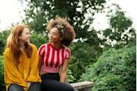 """<p>When you're talking to someone, you want them to look totally engaged. """"Open body language, like showing the palms of the hands, open eyes, lifted eyebrows, and a big genuine smile all indicate that someone is engaged and enjoying your conversation,"""" says Melillo. </p>"""