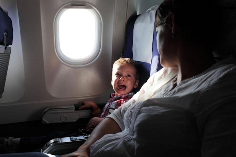 How long it take a kid to get bored on a flight