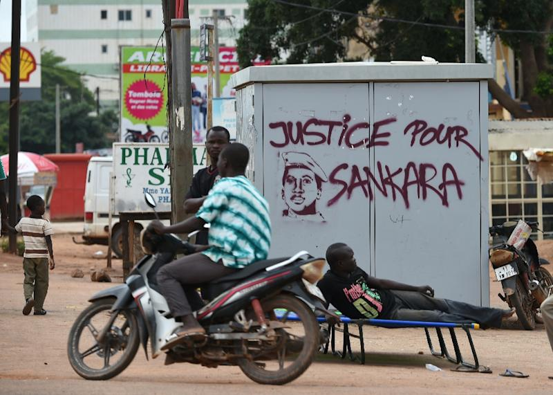 Thomas Sankara's family had to wait until the ousting of Burkina strongman Blaise Compaore in 2014 before their requests for an investigation into his murder got the official nod (AFP Photo/SIA KAMBOU)