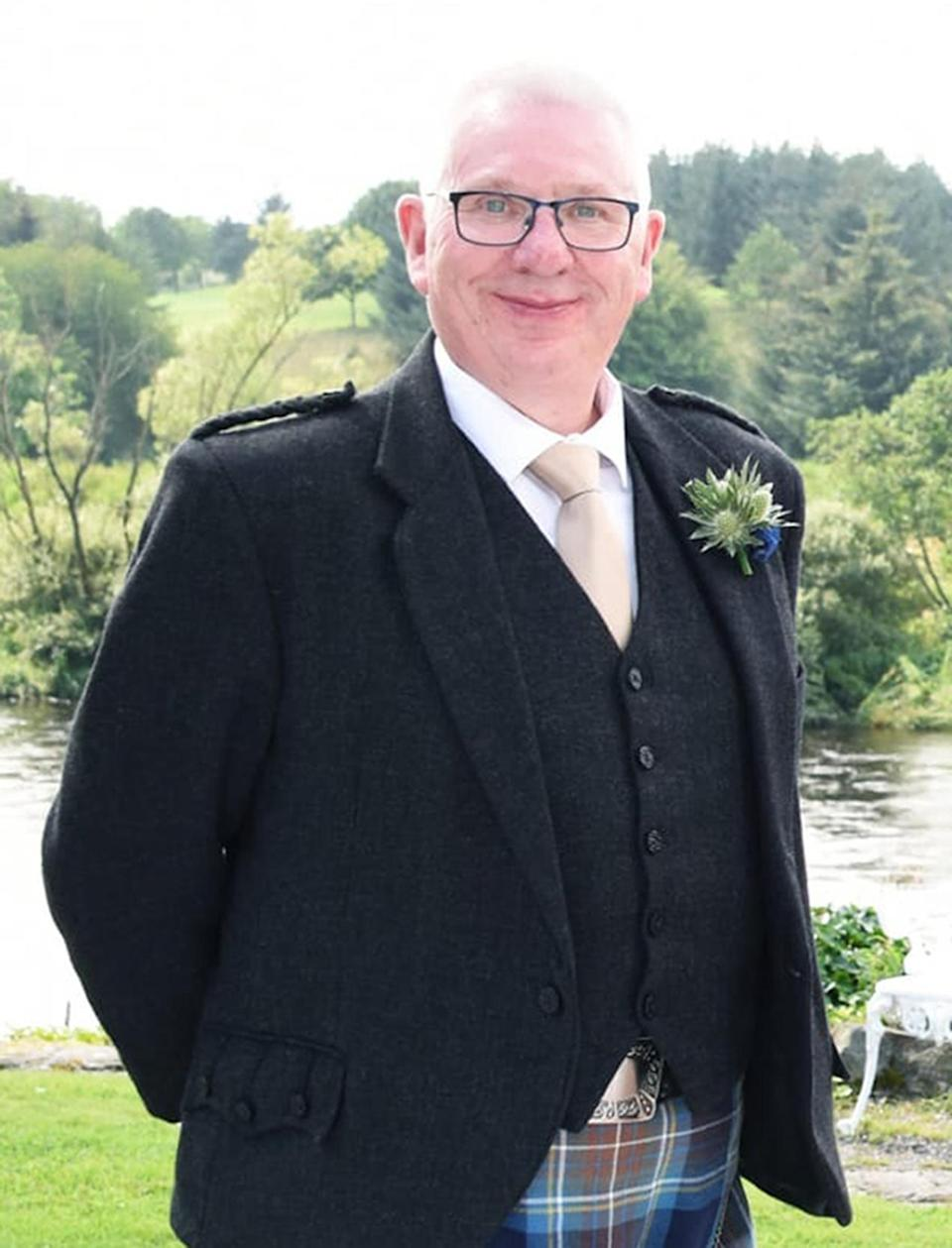 Conductor Donald Dinnie who died in the Stonehaven derailment along with the driver and a passenger. (PA)