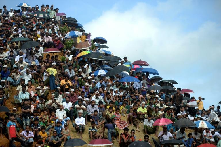 At an August 25 rally, some 200,000 Rohingya refugees in Bangladesh marked two years since the exodus from Myanmar after a military crackdown