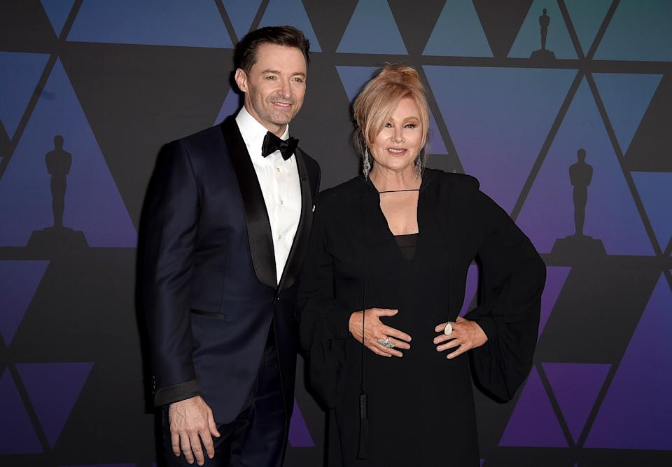 Hugh Jackman celebrated 25 years of marriage to Deborra-Lee Furness with an emotional Instagram post.  (Photo by Kevin Winter/Getty Images)