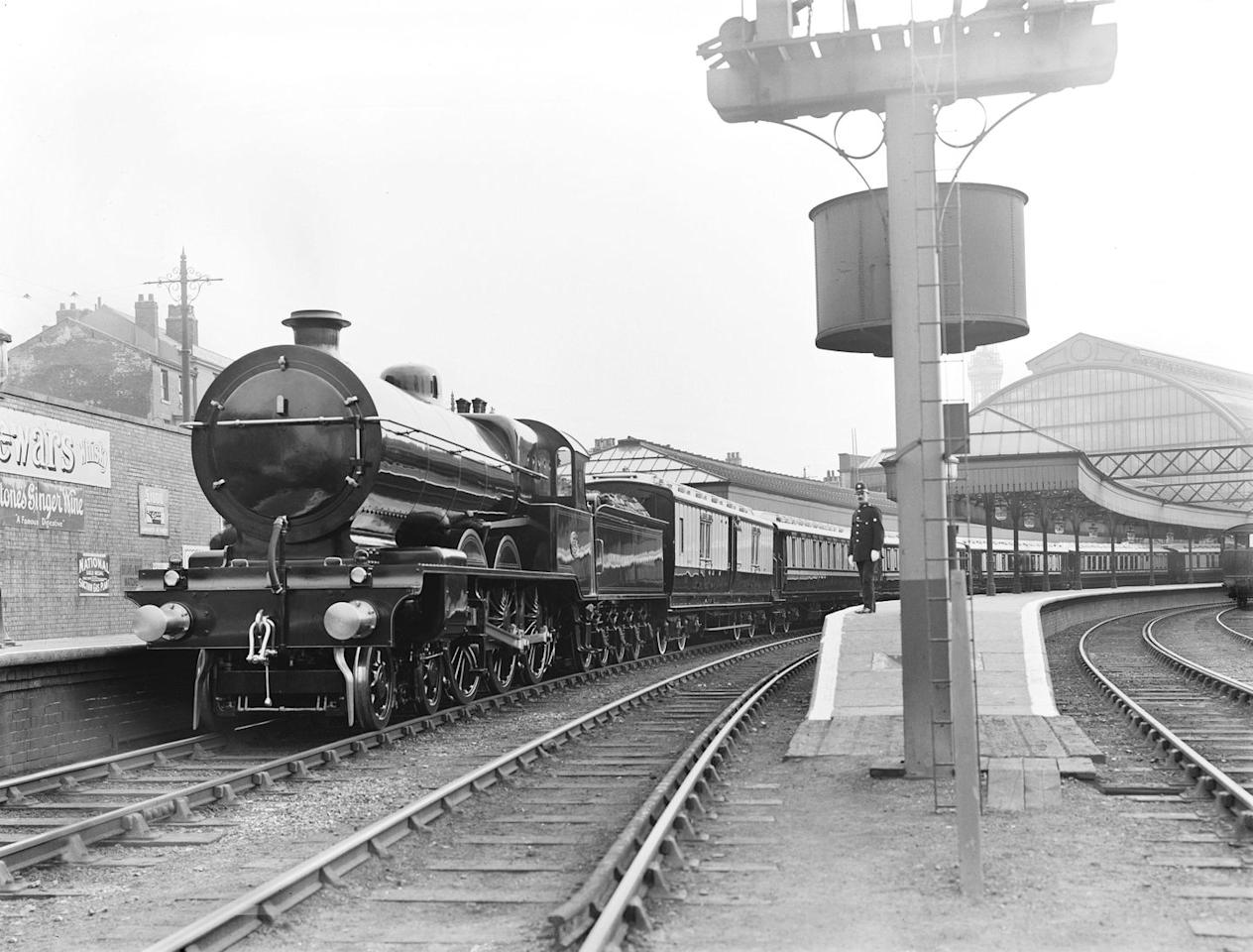 <p>Back before the 1840s, Queen Victoria was not a fan of travelling by coach while on tour. Enter: the royal train. This is what it looked like when it carried King George V and Queen Mary to Blackpool, as part of their tour of the North West of England.</p>