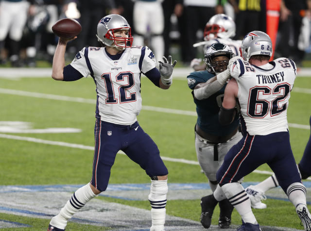 New England Patriots quarterback Tom Brady was named the NFL's MVP last season at age 40. (AP)