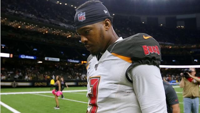 The Tampa Bay Buccaneers are sticking with Jameis Winston, while Dallas Cowboys star Amari Cooper has an injury.