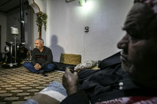 Syrian Kurdish merchant Mustafa al-Zaim, 44, says his home, a supermarket and several other stores were seized by Turkey-backed Syrian rebels