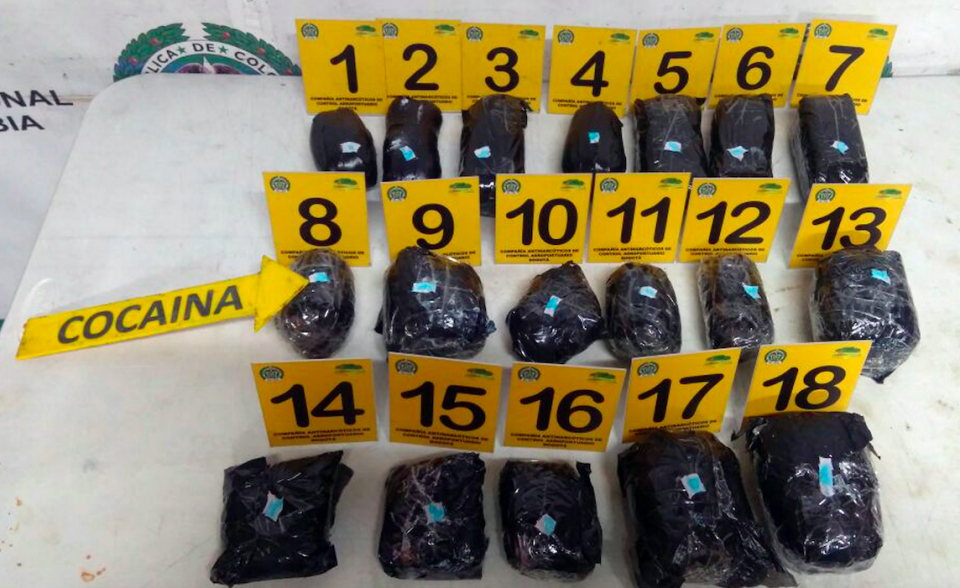 Sainsbury allegedly tried to return to Australia with 5.8 kilograms of cocaine concealed in a series of headphones. Photo: AAP