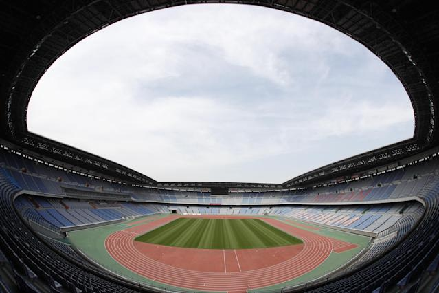 <p>International Stadium Yokohama (Photo courtesy of Tokyo 2020) </p>
