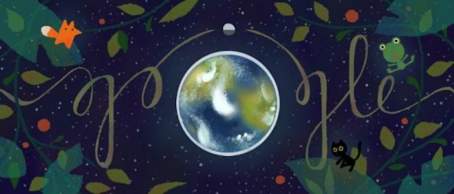 Google's Illustration for Earth Day 2017