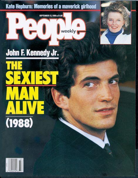 PHOTO: John F. Kennedy Jr. was named People Magazine's Sexiest Man Alive on their Sept. 12, 1988 issue. (People Magazine)