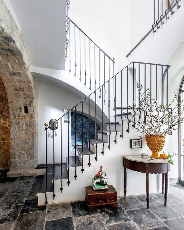 "<p>The entryway of Bill Brockschmidt and Richard Dragisic's home in Sicily is merely a foreshadow for the stunning spaces that exist elsewhere in the home.</p><p><a class=""link rapid-noclick-resp"" href=""https://www.elledecor.com/design-decorate/house-interiors/a31978243/brockschmidt-palazzo-sicily/"" rel=""nofollow noopener"" target=""_blank"" data-ylk=""slk:TOUR THE HOME"">TOUR THE HOME</a></p><p><a href=""https://www.instagram.com/p/CABoHjEJ-YF/"" rel=""nofollow noopener"" target=""_blank"" data-ylk=""slk:See the original post on Instagram"" class=""link rapid-noclick-resp"">See the original post on Instagram</a></p>"