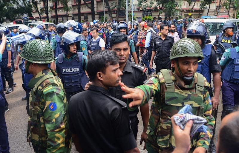Concern is mounting that Bangladesh is sliding into deeper chaos, with under-pressure police arresting 11,000 people last month in a desperate crackdown (AFP Photo/)