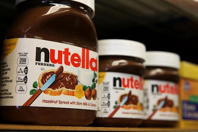 Chocolate-spread fanatics are less than impressed with Nutella's revamped recipe. (Photo: Getty Images)