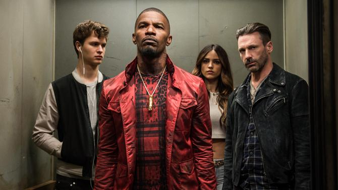 The star-studded cast of 'Baby Driver' (Credit: Sony Pictures)