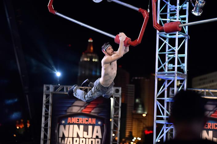 Drew Drechsel, seen competing on 'American Ninja Warrior,' was arrested Tuesday on charges that he allegedly had sex with an underage teenage girl.