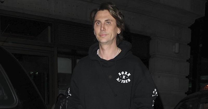 Jonathan Cheban spotted out and about in London, UK (Copyright: FPS Images/SilverHub/REX/Shutterstock)