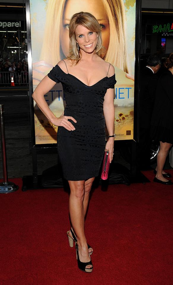 """<a href=""""http://movies.yahoo.com/movie/contributor/1804537315"""">Cheryl Hines</a> at the Los Angeles premiere of <a href=""""http://movies.yahoo.com/movie/1810089734/info"""">Letters to Juliet</a> - 05/11/2010"""