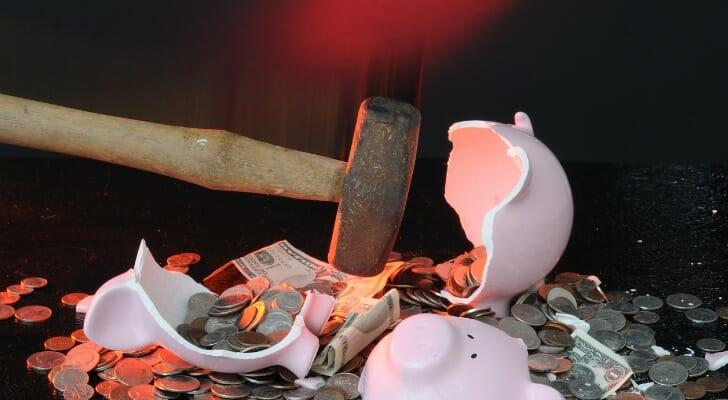 Breaking your Roth IRA piggy bank can have dire long-term consequences