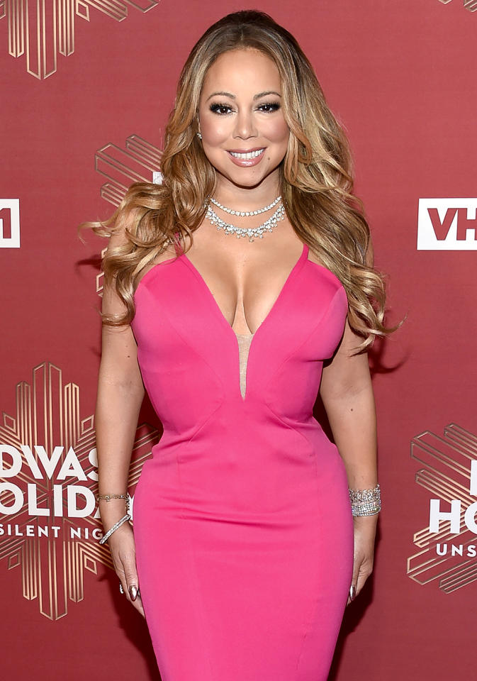 """<p>The diva has made it quite clear that she has a new man, <a rel=""""nofollow"""" href=""""https://www.yahoo.com/celebrity/mariah-carey-cozies-up-to-new-beau-bryan-tanaka-onstage-in-nyc-174737470.html"""">backup dancer Bryan Tanaka</a>, whom she began dating just two months after she and billionaire Australian businessman James Packer called off their engagement. But after such an ugly split, we think Mariah should take some time for herself, maybe reorganize her impressive closet, pose for a new series of sexy selfies, or take Dem Babies to Disneyland again. No need to rush into another romance — let Mariah do Mariah for a while. Some beautiful music could come out of it. (Photo: Evan Agostini/Invision/AP) </p>"""