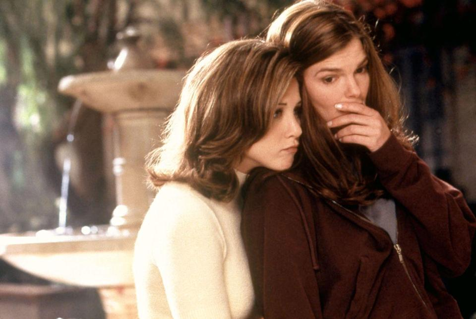 "<p>Aniston barely had the chance to showcase her abilities in this 1997 comedy where she plays the supportive childhood bestie of Jeanne Tripplehorn's unlucky-in-love main character.</p><p><a class=""link rapid-noclick-resp"" href=""https://www.youtube.com/watch?v=8VFQ9qzRbgI"" rel=""nofollow noopener"" target=""_blank"" data-ylk=""slk:WATCH NOW"">WATCH NOW</a></p>"