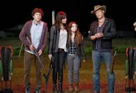 <p>By then semi-retired, Carpenter was the first director offered the upbeat zom-com from future 'Deadpool' writers Rhett Reese and Paul Wernick, starring Woody Harrelson, Jesse Eisenberg, Emma Stone and Abigail Breslin. Ultimately it was directed by Ruben Fleischer. (Picture credit: Sony) </p>