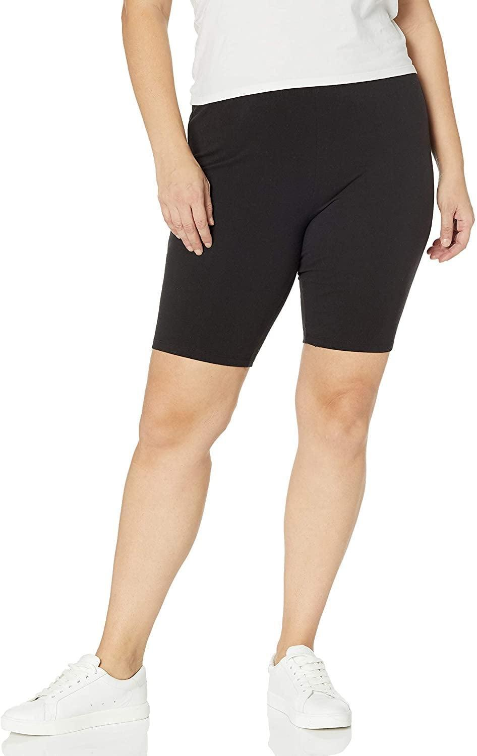 <p>You can't go wrong with these <span>Just My Size Stretch Jersey Bike Shorts</span> ($10, originally $12), especially if you have curves.</p>