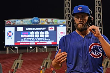 Jake Arrieta threw 119 pitches in his no-hitter. (Getty Images)