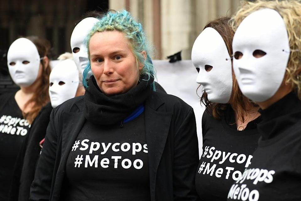 'Soon after my discovery, I met the first eight women who brought civil cases against the Metropolitan Police, one of whom was Kate Wilson'  (PA)
