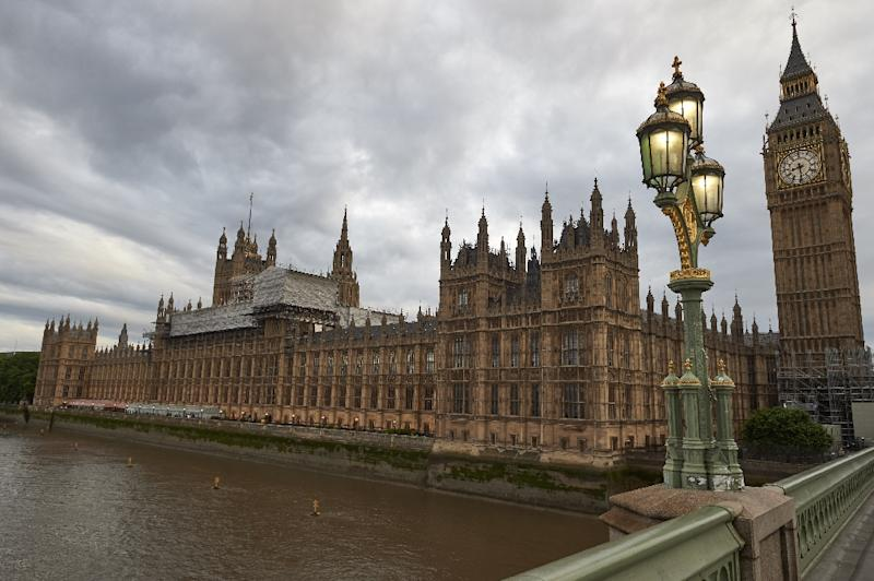 The Conservatives have 317 seats in Britain's 650-seat parliament and need the support of the DUP's 10 MPs to be able to govern (AFP Photo/NIKLAS HALLE'N)