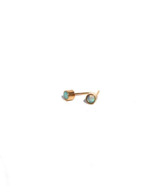 """<br><br><strong>Lumo Jewelry</strong> Lumo Opal Studs Earrings, $, available at <a href=""""https://go.skimresources.com/?id=30283X879131&url=https%3A%2F%2Fwww.garmentory.com%2Fsale%2Flumo-jewelry%2Fearrings-studs-delicate%2F88313-opal-studs-earrings"""" rel=""""nofollow noopener"""" target=""""_blank"""" data-ylk=""""slk:Founders And Followers"""" class=""""link rapid-noclick-resp"""">Founders And Followers</a>"""