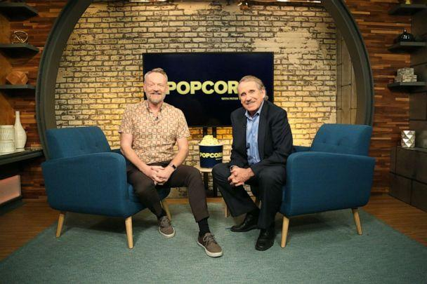 PHOTO: Jared Harris appears on 'Popcorn with Peter Travers' at ABC News studios, Aug. 7, 2019, in New York City. (Emilie Richardson/ABC News)