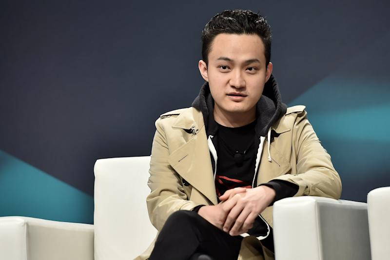 NEW YORK, NY - MAY 15: CEO of TRON Justin Sun attends Consensus 2019 at the Hilton Midtown on May 15, 2019 in New York City. (Photo by Steven Ferdman/Getty Images)