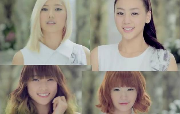 SKARF - Clockwise L-R Ferlyn, Natasha, Sol, and Jenny (Youtube collage)