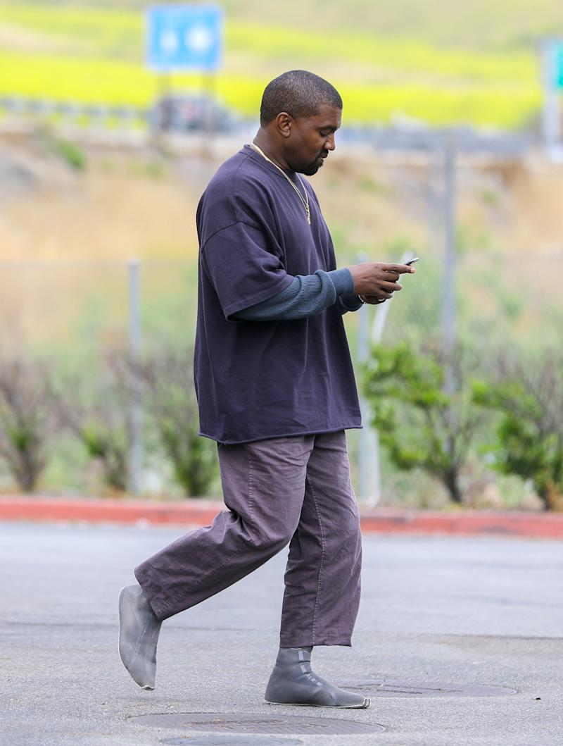 fe7f0a7e5 What s Up with Kanye West s New Sneaker Socks
