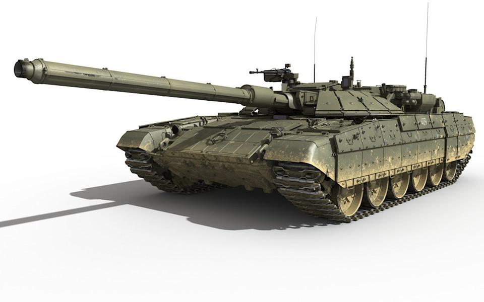 Russia's New Main Battle Tank Is Raising Alarms in Europe