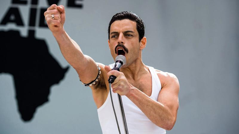 Rami Malek won an Oscar for portraying Queen frontman Freddie Mercury in 'Bohemian Rhapsody'. (Credit: 20th Century Fox)