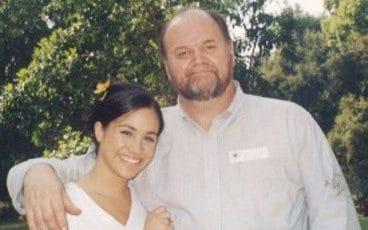 Thomas Markle with his daughter Meghan - Credit: TIM STEWART NEWS LIMITED