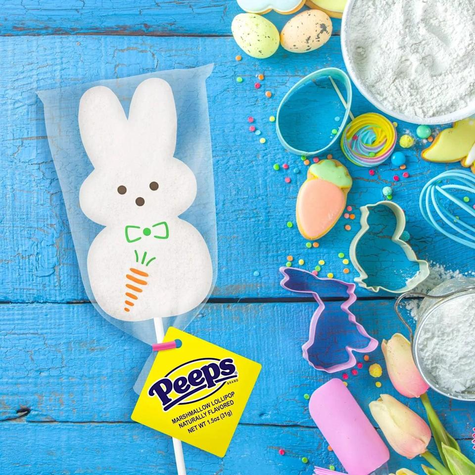 <p>How adorable is this <span>Peeps Easter White Marshmallow Bunny Lollipop</span> ($2)?</p>