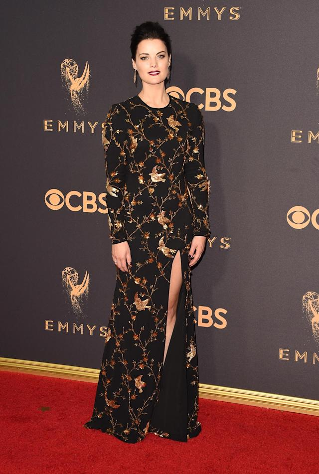 <p>Jaimie Alexander attends the 69th Annual Primetime Emmy Awards at Microsoft Theater on September 17, 2017 in Los Angeles, California. (Photo by J. Merritt/Getty Images) </p>