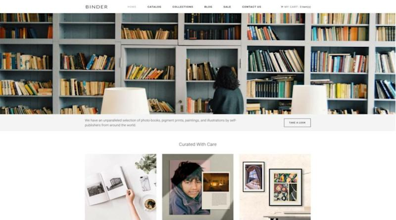 Binder Photo-Books to Launch Online Store Selling Self-Published Photo-Books and Art