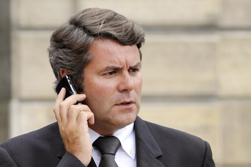 Former French presidential adviser Franck Louvrier, seen here in 2008, is being held in custody in Nanterre, in connection with a probe into the financing of Nicolas Sarkozy's 2012 presidential campaign (AFP Photo/Gerard Cerles)