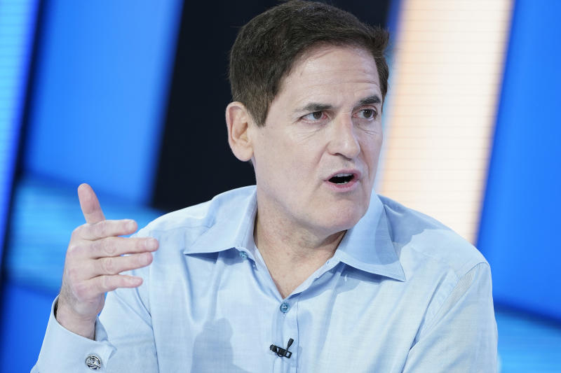 Mark Cuban wants the conversation about white privilege to change. (Photo by John Lamparski/Getty Images)