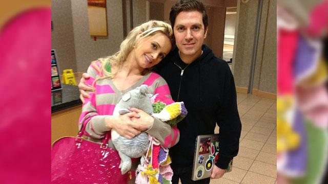 Holly Madison is a Mom!