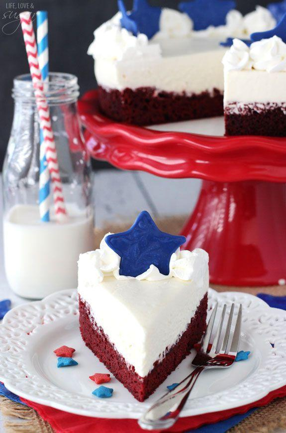 "<p>This no-bake dessert comes equipped with two cakes in one.</p><p>Get the recipe from <a href=""https://www.lifeloveandsugar.com/2015/06/08/red-velvet-blondie-cheesecake/"" rel=""nofollow noopener"" target=""_blank"" data-ylk=""slk:Love Life and Sugar"" class=""link rapid-noclick-resp"">Love Life and Sugar</a>.</p>"