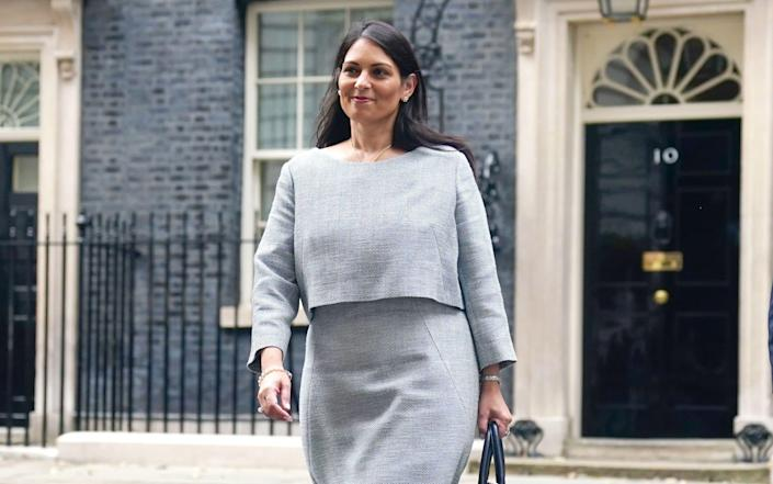 Priti Patel escaped a demotion in last week's reshuffle - much to the annoyance of Labour - PA