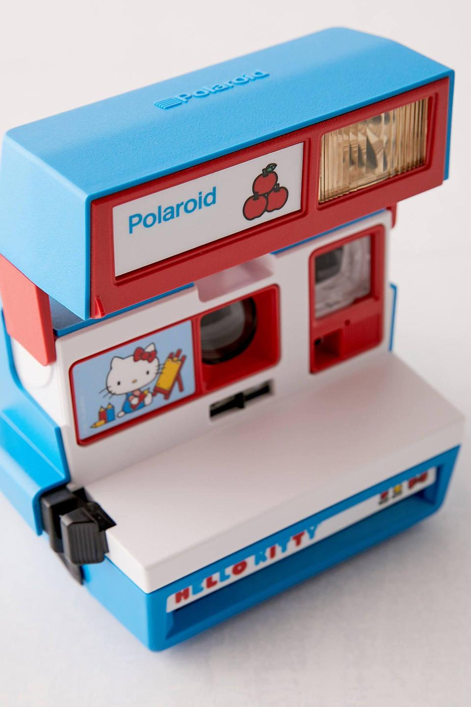 """<p><strong>Polaroid</strong></p><p>urbanoutfitters.com</p><p><strong>$150.00</strong></p><p><a href=""""https://go.redirectingat.com?id=74968X1596630&url=https%3A%2F%2Fwww.urbanoutfitters.com%2Fshop%2Fpolaroid-hello-kitty-600-instant-camera&sref=https%3A%2F%2Fwww.elle.com%2Fbeauty%2Fg34850574%2Fhello-kitty-best-beauty-products%2F"""" rel=""""nofollow noopener"""" target=""""_blank"""" data-ylk=""""slk:Shop Now"""" class=""""link rapid-noclick-resp"""">Shop Now</a></p>"""